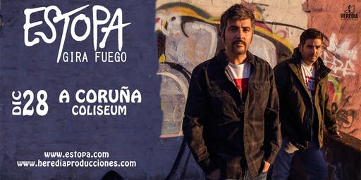 ESTOPA presenta GIRA FUEGO en A Coruña