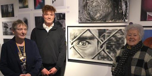 Teacher's Meeting - East Cambs Schools Art Exhibition