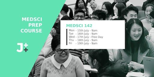JTT Medsci 142 Prep course