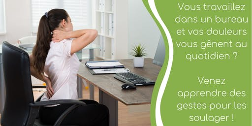 STOP aux douleurs dûes à la posture assise de longue durée !