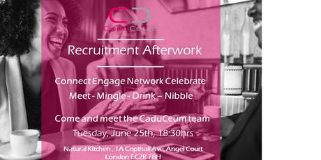 Recruitment Afterwork tickets