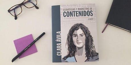 """Presentación del libro """"Estrategias y Marketing de Contenidos"""" entradas"""
