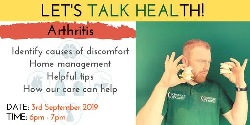 Let's Talk Health - Safe and Effective Ways to Manage Arthritis