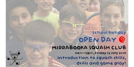 Open Day @ Mirrabooka Squash Club