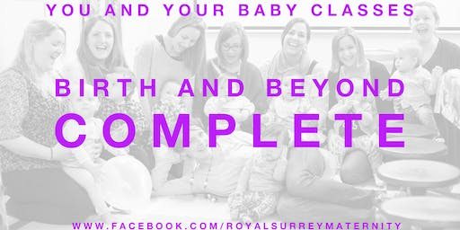 'Birth and Beyond Complete' Package Godalming (Starting October- for due dates in December/January)