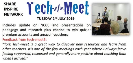 Teach-meet6 (as part of York CAS Community Secondary meeting)  tickets