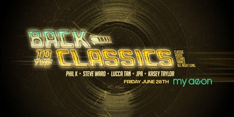 BACK TO THE CLASSICS tickets