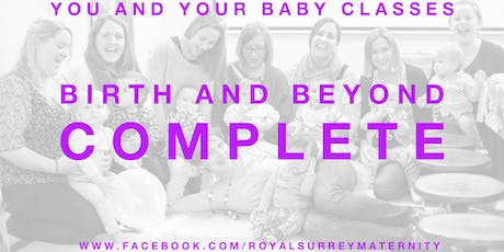 'Birth and Beyond Complete' Package Guildford (Starting October- for due dates in Decmeber/January) tickets