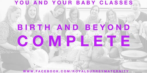 'Birth and Beyond Complete' Package Guildford (Starting October- for due dates in Decmeber/January)