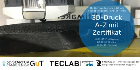 3D-Druck A-Z   Tickets
