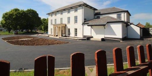 Community Enterprise Best practice visit Llanrumney Hall Community Trust 3 July 2019