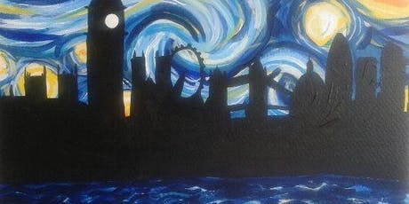 Paint Starry Night over London! Farringdon, Wednesday 21 August tickets