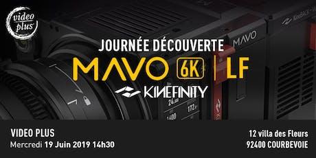 Kinefinity Mavo LF : Journée découverte chez Video Plus billets