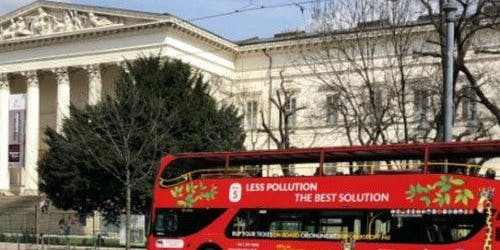Hop-on Hop-off Bus & Boat Budapest + Funicular Roundtrip