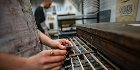 Introduction to Letterpress with Robert Hetherington at The Cass tickets