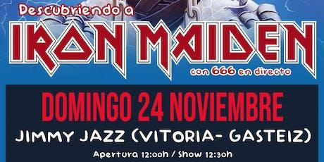 ROCK EN FAMILIA: Descubriendo a Iron Maiden - Vitoria entradas