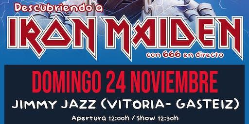 ROCK EN FAMILIA: Descubriendo a Iron Maiden en Vitoria