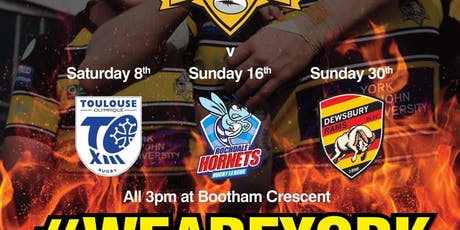 York City Knights Vs Rochdale Hornets tickets
