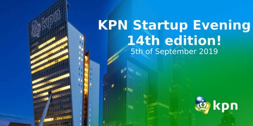 KPN Startup Evening - 14th Edition