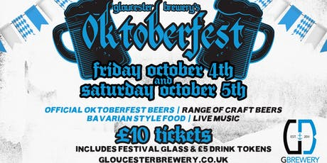 Oktoberfest at Gloucester Brewery 2019 tickets