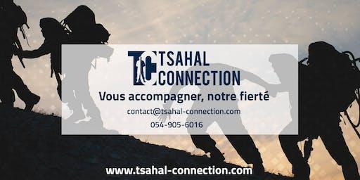 Reprise de la permanence de Tsahal Connection à TLV !