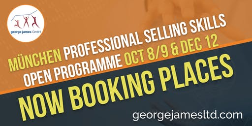 Professional Selling Skills Programme - München - Oct 8/9 & Dec 12