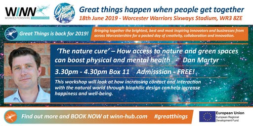 'The nature cure' - How access to nature and green spaces can boost physical and mental health - Dan Martyr