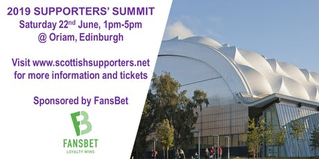 2019 Supporters' Summit tickets