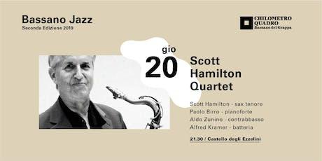Scott Hamilton Quartet biglietti