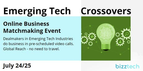 Emerging Tech Crossovers | July 24/25 tickets