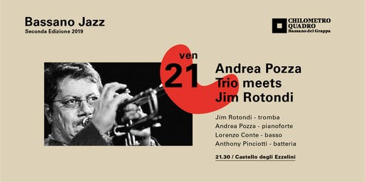 Andrea Pozza Trio meets Jim Rotondi