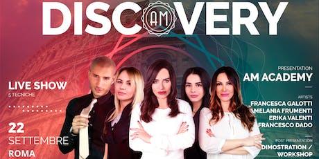 Dicovery Day Roma biglietti