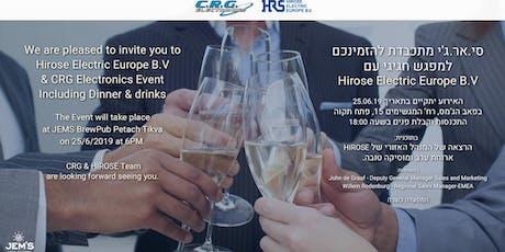 HIROSE  & CRG Event tickets