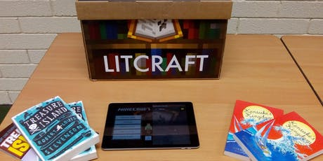 Litcraft ~ Minecraft comes to the Library (Skelmersdale) #Litcraft tickets