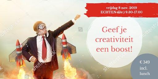 Geef je creativiteit een BOOST! (Raymond van Driel)