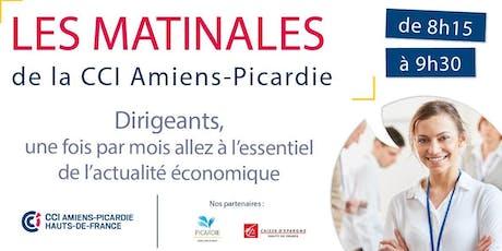 MATINALE DE LA CCI - Mon banquier, mon partenaire billets