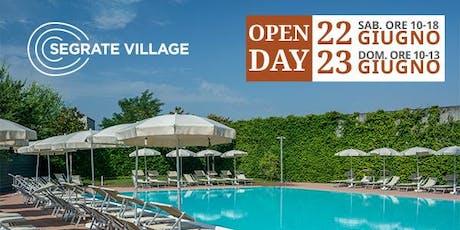 Open Day Segrate Village biglietti