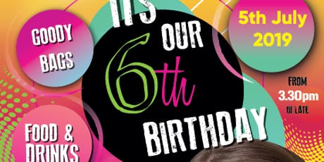 The Face Painting Shop 6th Birthday Bash tickets