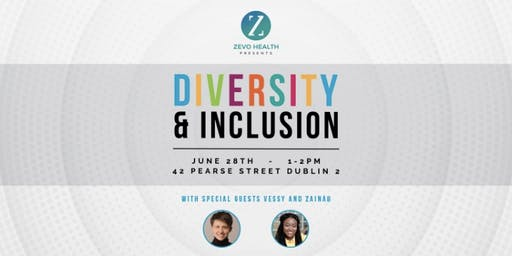 Zevo health presents a celebration of Diversity and Inclusion