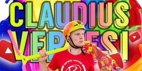 Claudius Vertesi @ Rampworx Skatepark August 2019 tickets