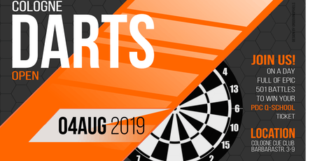 Cologne Darts Open 01 tickets