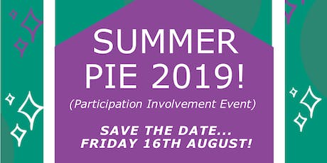 Summer Participation Involvement Event (PIE) tickets