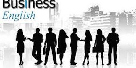 """Seminario """"Business English"""" -Prima edizione di due- biglietti"""