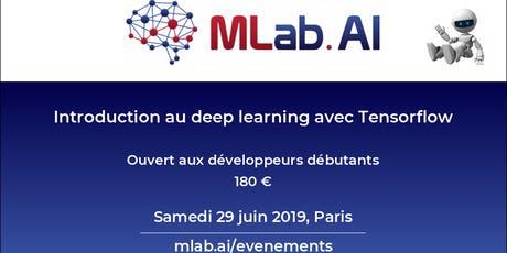 Introduction au deep learning avec Tensorflow tickets