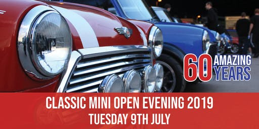 Classic Mini Open Evening 2019