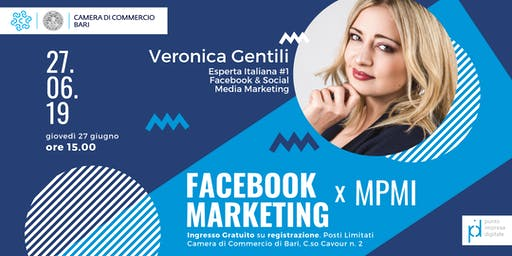 Facebook Marketing per MPMI con Veronica Gentili