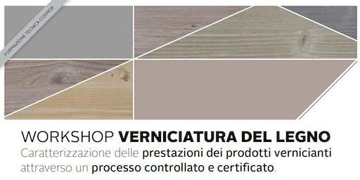 Workshop VERNICIATURA LEGNO - Seregno