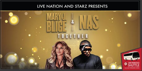Mary J. Blige - Shoreline Amphitheater Party Bus tickets