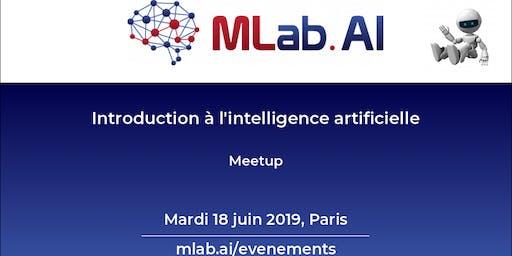 Introduction à l'intelligence artificielle