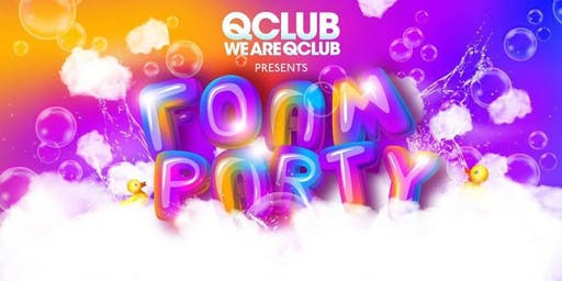 Q Club's Bank Holiday Foam Party!